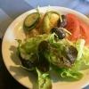 Salat (von mir schon mit der Monster-Pfeffermühle bearbeitet)