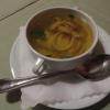 hausgemachte Pfannkuchensuppe