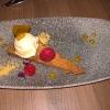 Maracaibo-Tarte - Erdnussbutter-Eis/ Passionsfrucht-Gelee/ Fleur-de-Sel-Karamell