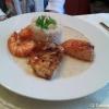 Fischvariationen mit Reis