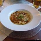 Foto zu Landhaus zum Hirschen in den Hollerhöfen: Pfannkuchensuppe