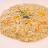 Risotto mit Lavendel und Cantaloupe-Melone