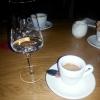 Espresso Caroux + Vallendars Haselnuss-Geist