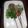 Satay - Hühnchenspieße nach Art des Hauses