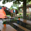 Biergarten mit Kinderspielplatz