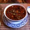 Frisch zubereitete Pekingsuppe
