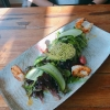Gambas mit Salat