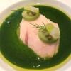 hamachi, jade sauce & sansho pfeffer