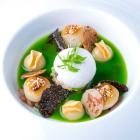Foto zu Restaurant Lafleur: Allerlei von Topinambur, sautierter und getrüffelter Treviso Tardivo
