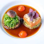 Foto zu Restaurant Lafleur: Gebackener Gewürztofu mit Macadamia-Reiscrunch