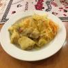 Kraut- und Kartoffelsalat vom Buffet