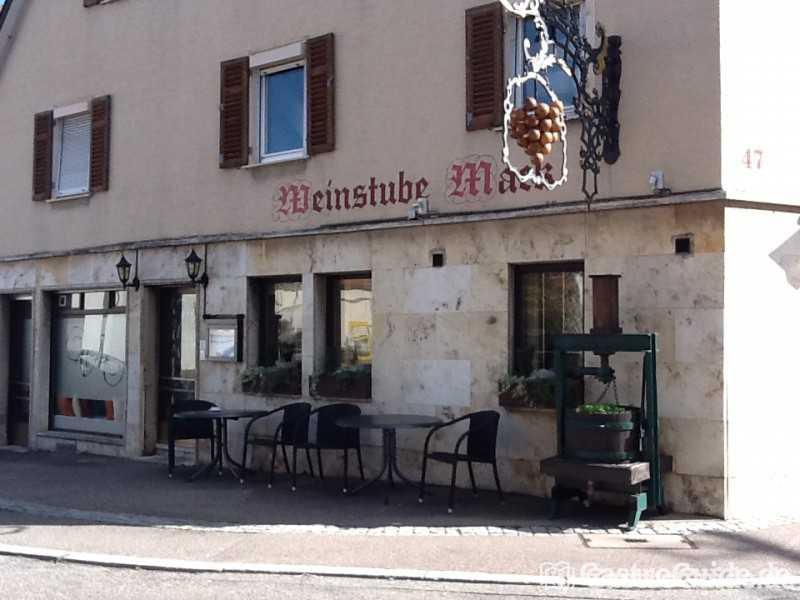 Weinstube Mack Restaurant Weinstube In 70734 Fellbach Fellbach
