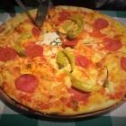 Foto zu Trattoria Romana: Pizza Diavola (ohne Zwiebeln)
