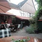 Foto zu Weinstube Mathis: Der Innenhof
