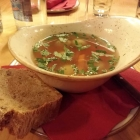 Foto zu Weinstube Mathis: Markklößchensuppe