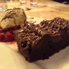Foto zu Weinstube Mathis: Warmer Schoko-Kuchen