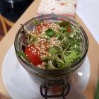 Foto zu Restaurant Ratsstube: Salat im Glas