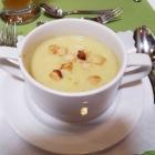 Foto zu Restaurant Ratsstube: Zuckerschotensuppe mit Croutons