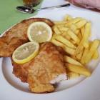 Foto zu Restaurant Ratsstube: Schnitzel mit Pommes
