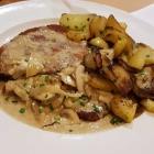 Foto zu Restaurant Ratsstube: Pilzrahmschnitzel mit Bratkartoffeln