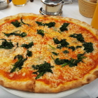 Foto zu Ristorante Pizzeria Cortina: Spinatpizza
