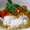 Indisches Dhal Curry mit Tomaten