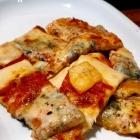 Foto zu Tano: Pizzabrot mit Gorgonzola als appetizer: Man Jann es schlechter treffen...