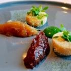 Foto zu Se7en Oceans · Gourmetrestaurant · Europa Passage · 2.OG: Gebackener Camembert (Parfait)