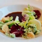 Foto zu Se7en Oceans · Gourmetrestaurant · Europa Passage · 2.OG: Mit Radicchio-Kimchi-Essenz
