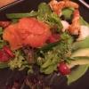 Marie's Rote Garnele und Färörlachs / Rauch / Avocado / Spinat