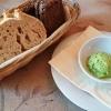 Brot und Bärlauchbutter