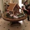 Weihnachtliche Stimmung in der Hotel-Lobby.