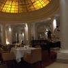Die Hotel-Lobby.