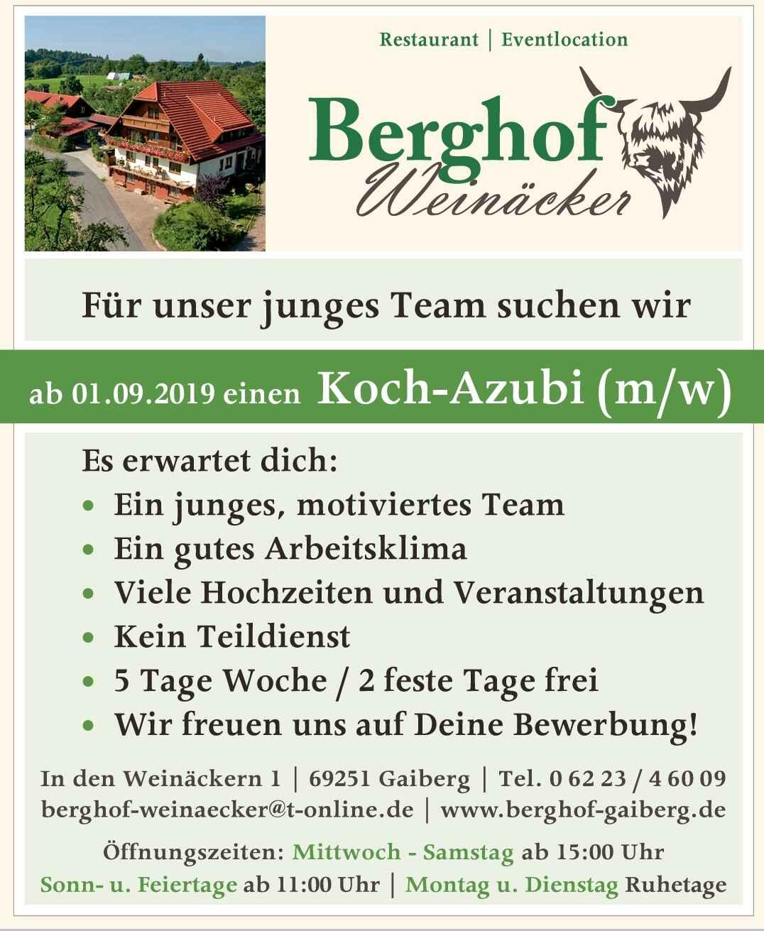 Bild zur Nachricht von Berghof Weinäcker