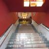 die Treppe zum Eingang hinauf ist fies lang und steil