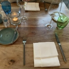 Foto zu Sylter Stadtgeflüster: 29.6.20 unser Tisch