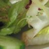 Leider wies der grüne Salat bereits braune Bruchstellen auf