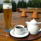 Foto zu Bergcafe Friedrichstein: alkoholfreies Weizen und 1 Kännchen Kaffee = 6,30€