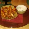 Kartoffelecken mit Dipp