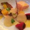Lachs /  Gelbe Beete / Cous cous / Koriander