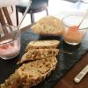 Brot mit 2 Dips