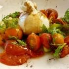 Foto zu Canova in der Kunsthalle Bremen: Tomaten geschmolzen, confiert und roh mit Burrata