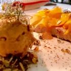 Foto zu Canova in der Kunsthalle Bremen: Dessert:Dreierlei vom Kürbis mit Haselnuss-Eis