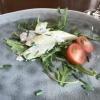 Vorspeise: Spargelsalat mit Ruccola