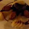 Filet mit Rotkohl