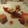 Nougat / Pfälzer Erdbeeren / Rhabarber
