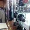 Deko und Glasfront zur Tennishalle