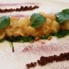 Salat aus Jakobsmuschel, Mango und Reis