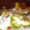 Teil des Frühstücksbuffets