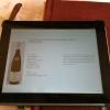 Weinkarte I Pad